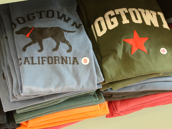 Dogtown shirts at Epicenter, Point Reyes