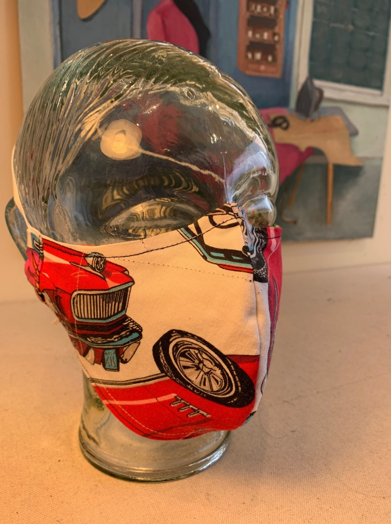 Mask by Dana Davidson, Epicenter Pt. Reyes