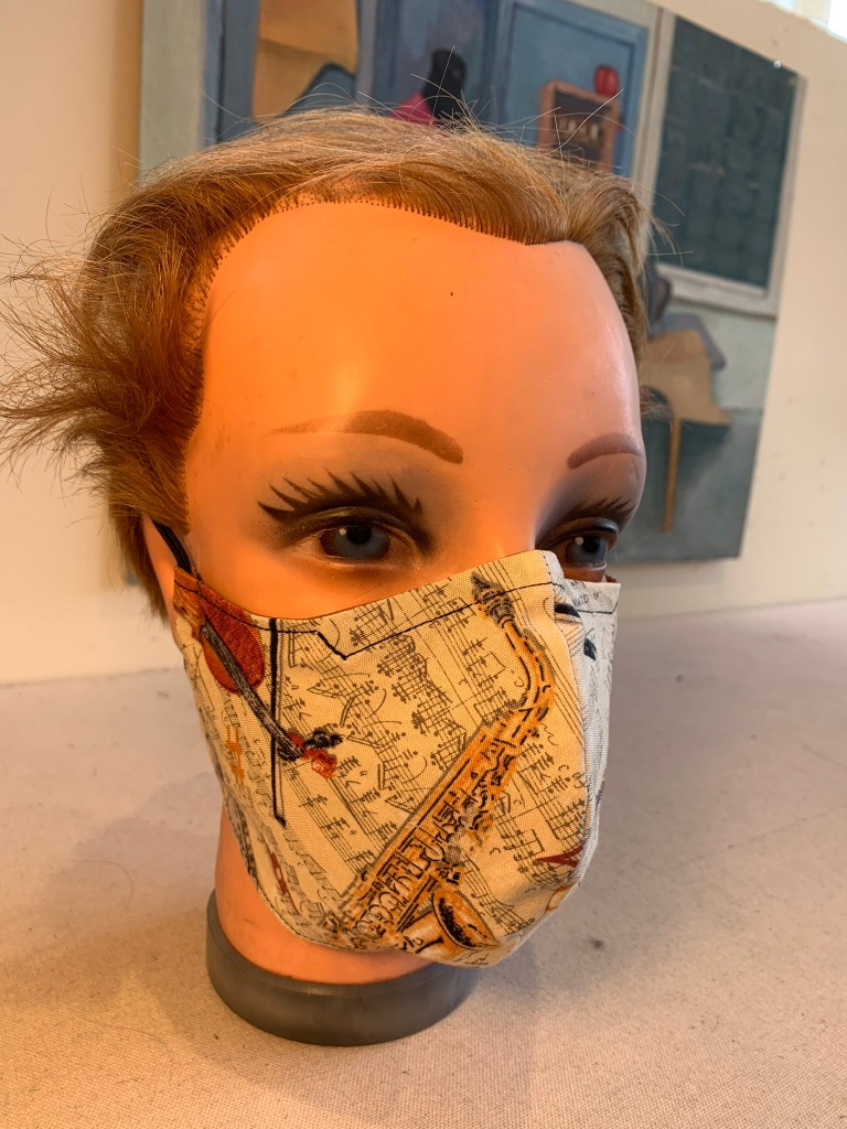 Mask made by Dana Davidson