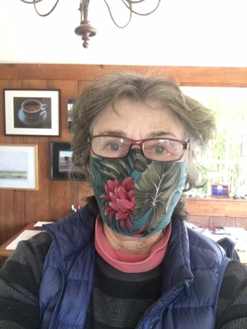 Mask made by Dana Davidson