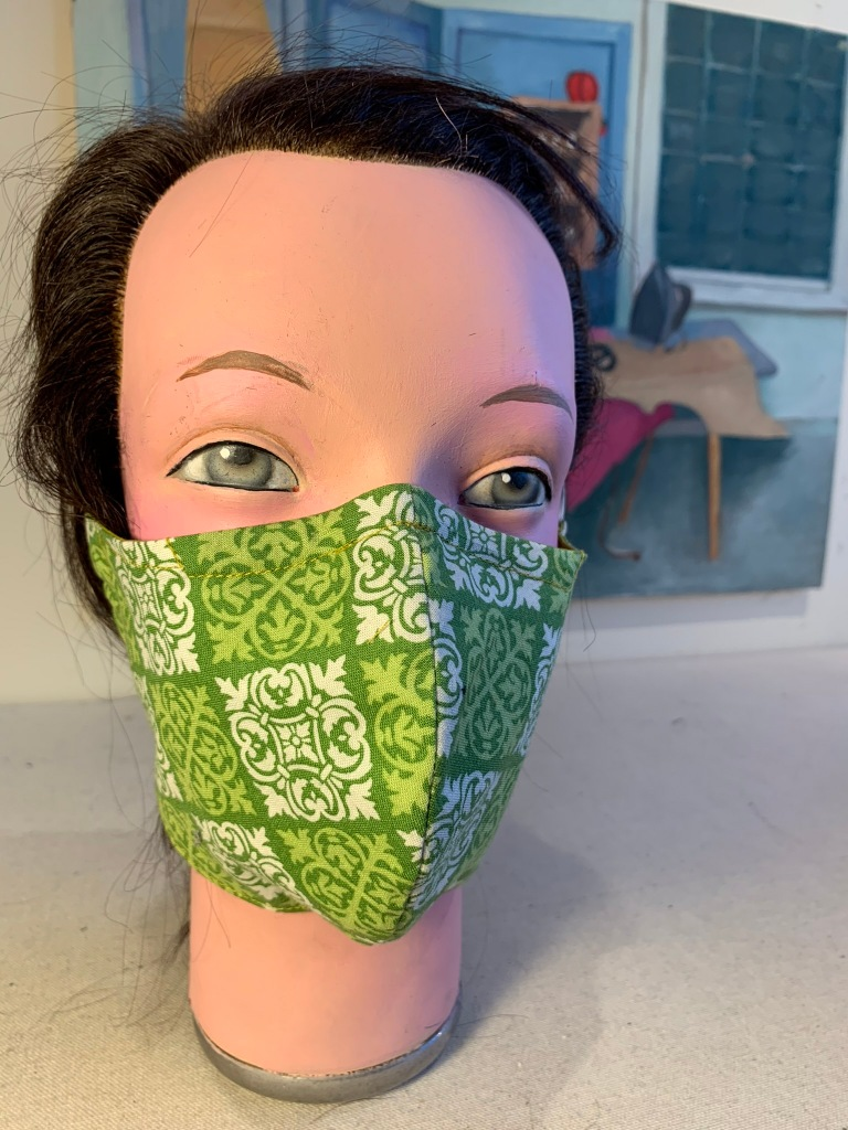 New Green Deal mask