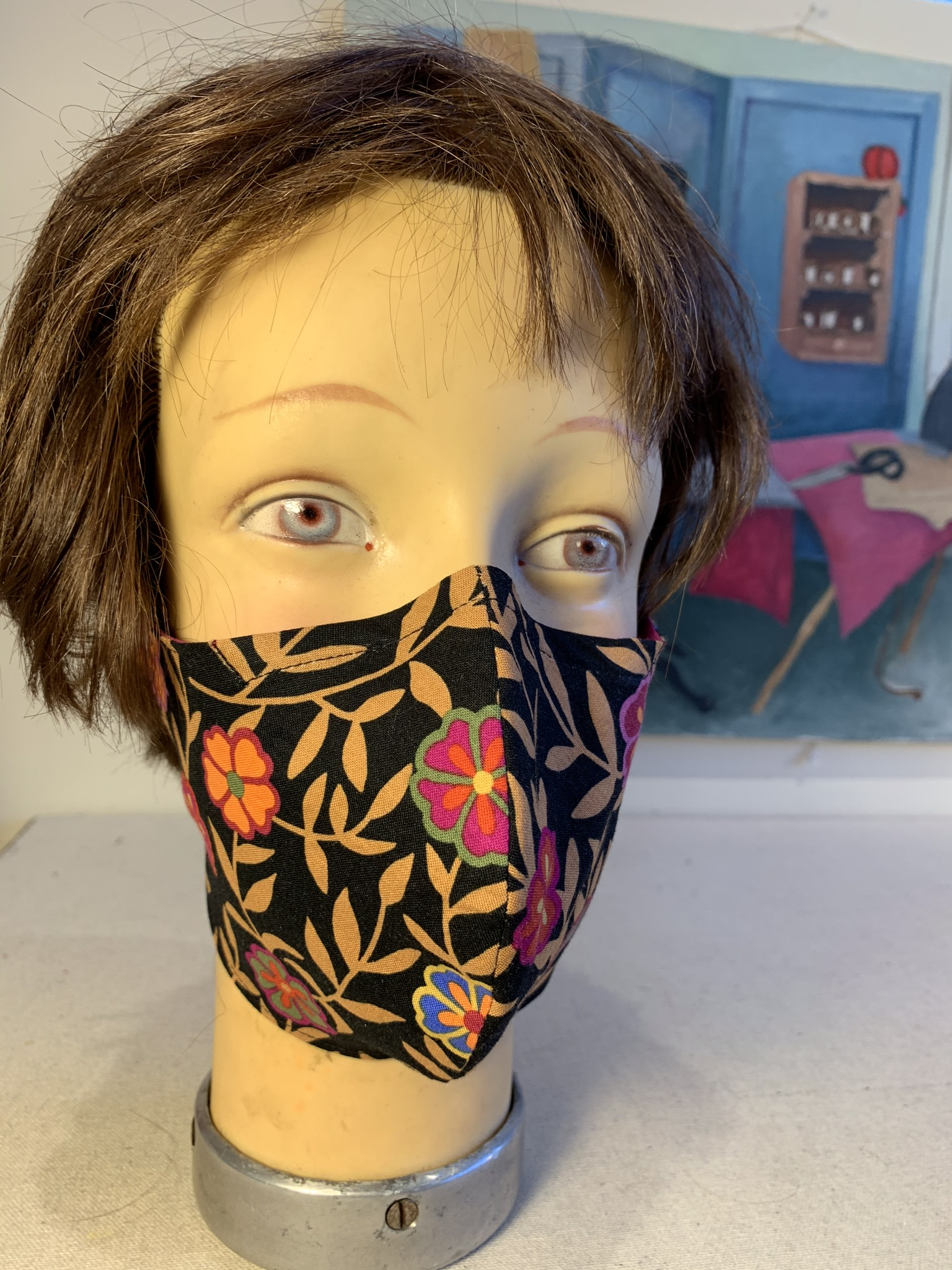 Epicenter Point Reyes Mask made by Dana Davidson