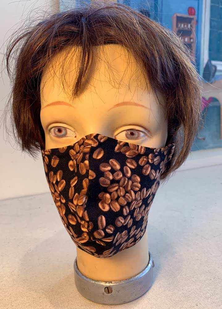 Epicenter Point Reyes Mask made by Dana Davidson